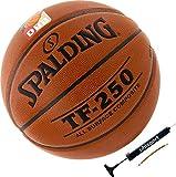 Spalding Basketball Indoor/Outdoor Ball TF-250 DBB Größe 7 + Ballpumpe
