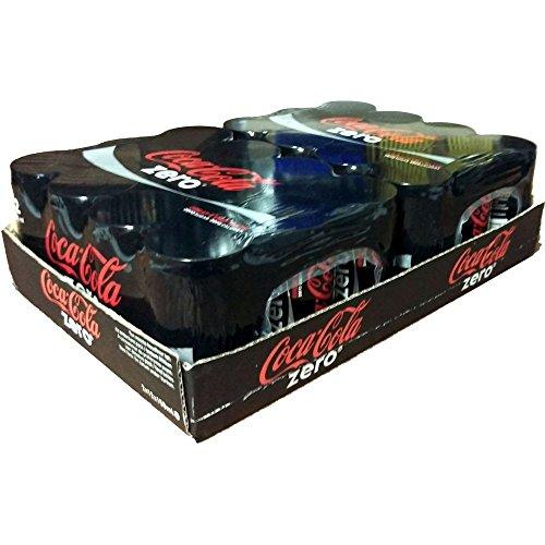 Coca Cola Zero pour les plus jeunes, 24x 150 ml, sans sucre. Idéal pour Voyage, école ou au travail.