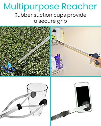 Vive Suction Cup Reacher Grabber - 32