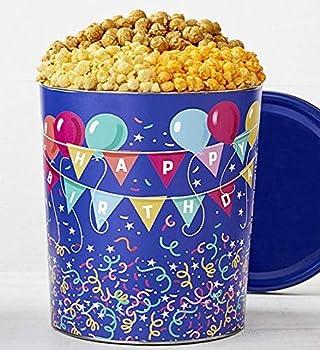 The Popcorn Factory Birthday Balloon Tin