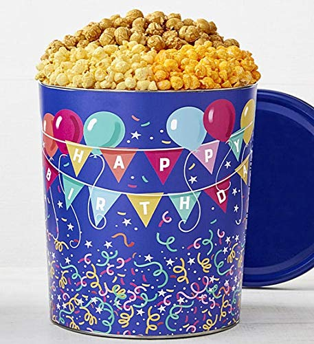 Buy Bargain The Popcorn Factory Birthday Balloon Tin