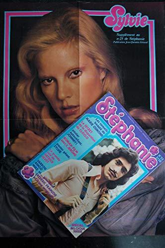 STEPHANIE 25 1974 CLOCLO SARDOU RINGO - SYLVIE + Poster - MIKE BRANT