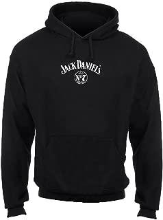 Jack Daniels Men's Pullover Barrel Hoodie Hoody Sweatshirt, Black. 15261474JD-89