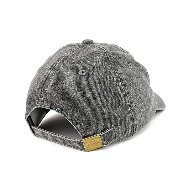 Trendy Apparel Shop Vintage 1960 Embroidered 60th Birthday Soft Crown Washed Cotton Cap