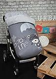 Babyline Paracaidista - Saco de silla de paseo, color gris