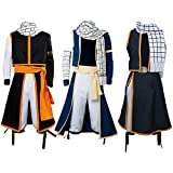 UU-Style Halloween Party Activity Festival Uniform Outfit Suitcase Natsu Dragneel Coat Scarf Pants Cosplay Costume