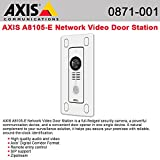 AXIS Communications 0871-001 A8105-E Door Station