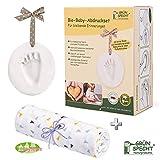 Gruenspecht Kit de impresión de fécula de patata orgánica para bebé, incluye accesorios y regalo