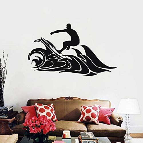 Tianpengyuanshuai Extreme Surf Sports muursticker waterdicht decoratie huis vinyl sticker surf club sport decoratie