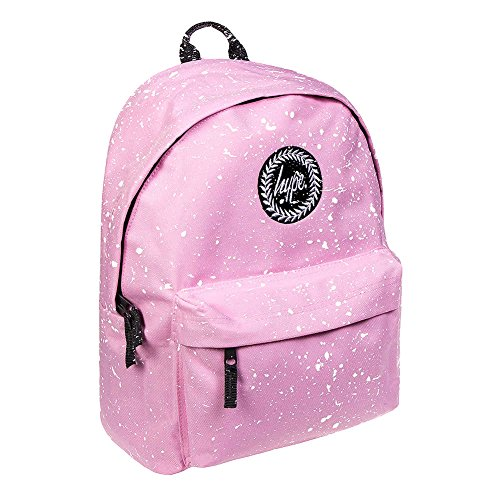 Hype - Mochila infantil rosa rosa y blanco