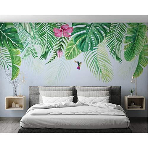 Benutzerdefinierte Tapete subtropische Pflanzen TV Hintergrund Wand Wohnzimmer Schlafzimmer dekorative Wand 3d Tapete