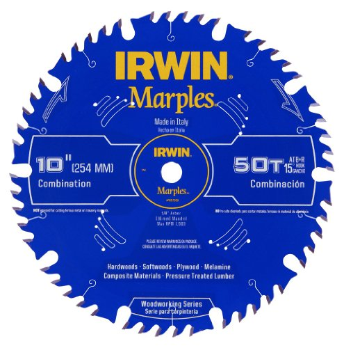 IRWIN Marples 10-Inch Miter / Table Saw...