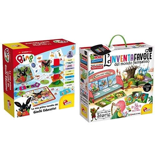 Offerta: Lisciani Giochi 75867 Bing Raccolta Giochi Educativi Baby & Giochi- Giocare Educare, Life Skills, 72644,