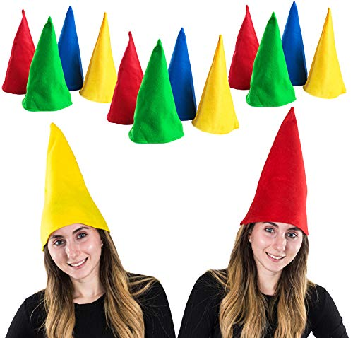 Funny Party Hats Gnome Hats - Set o…
