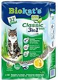 Biokat's Classic fresh 3in1 mit Duft - Klumpende Katzenstreu mit 3 unterschiedlichen Korngrößen - 1 Sack (1 x 10 L)
