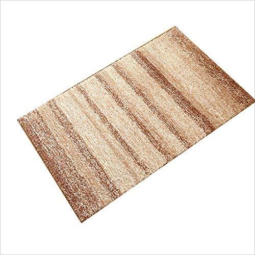 YOCASA Teppich Badezimmertüren Fußmatten Matratzen Startseite Wasser Intake Teppiche Fußmatten Eingangshalle Schlafzimmer Hotel (Farbe: B, Größe: 40 * 60CM)