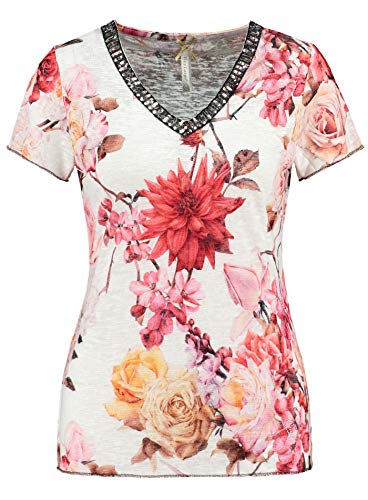 KEY LARGO WT00206 - Camiseta para mujer, color blanco blanco roto L