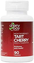 Montmorency Tart Cherry Dietary Supplement 480mg | 90 Count | Non-GMO & Gluten Free | Helps Support Joint Health