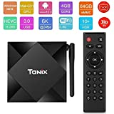 X96 Tanix TX6S Android 10.0, 4GB 64GB Android TV Box Supports JIO TV