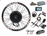 135mm dropouts e-Bike kit 48V-72V 3000w e Bike Conversion Kit 100km/h Speed 3000W ebike Conversion kit(26inch Rear)