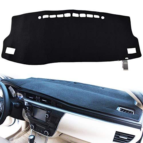 Z01 Yiz Dash Cover Mat Custom Fit for Toyota Corolla 2003 2004 2005 2006 2007 2008,Dashboard Cover Pad Black
