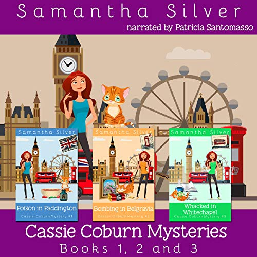 『Cassie Coburn Mysteries Books 1, 2 and 3 Boxed Set』のカバーアート