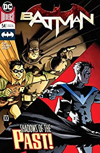 Batman (2016-) 54話 表紙画像