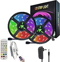 AnneFish LED Strip Light, 10M Smart RGB Rope Lighting, Color Changing APP Remote Control Tape Light, Home Decoration Music...