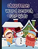 Christmas Word Search For Kids: Large Print 50 Christmas Puzzles for Kids Gifts For All!