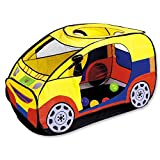 Anyshock Car Tent for Kids , Play Tent Pop Up Pretend Toys for Indoors and Outdoors Fun , Foldable Playhouses with Carrying Case as a Best Gift for 1-8 Years Old Toddler/Boys/Baby