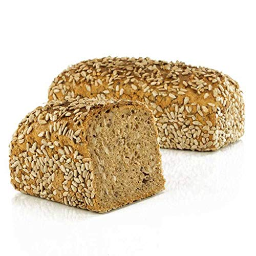 Vestakorn Handwerksbrot, Sonnenblumenbrot 750g - frisches Brot – Natursauerteig, selbst aufbacken in 10 Minuten