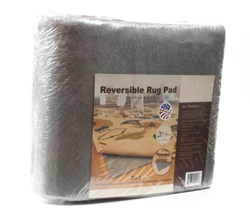 Deluxe All-Surface Non-skid Area Rug Pad for 8-Feet by 10-Feet Rug