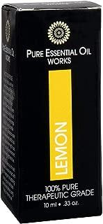 it works lemon essential oil