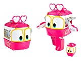 Animation Characters 'SELLY' Toy, Kids, Child, Korean Animation 'Robot Train'Transformer Train Robot character +Cute sticker gift