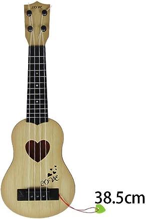FastDirect Los niños los niños pueden jugar simulación guitarra juguete instrumentos musicales juguetes Aparcabicicletas y soportes