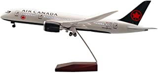 43Cm Boeing 787 Canada Passenger Aircraft Model Airplane Model with Wheels And Lights,1:130 Scale,Home Decor Ornament Toy ...