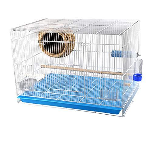 Waterdicht huisdierbed Exquise kleine vogelkooi smeedijzer hoge kwaliteit grote ruimte papegaai smossel duif groot met vogelnest vogelkooi huisdieraccessoire