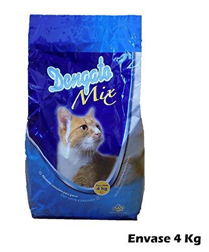 Sacchetto di alimenti per gatti con carne e pesce
