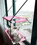 Panjzylds, una cama para gatos que puede tomar el sol, una hamaca para gatos de doble capa transpirable y elástica, resistente a los arañazos y a las mordeduras, tienda de campaña para gatos de verano