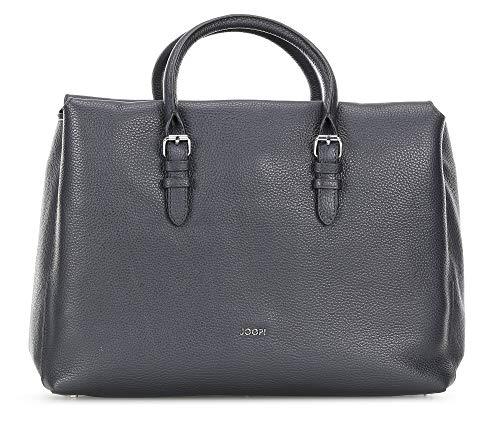 Joop! Damen Chiara Mila Businessshopper Lhz Business Tasche, Blau (Dark Blue), 16x29x38 cm