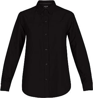 Women's Plaid Collared Long Sleeve Button Down Shirt