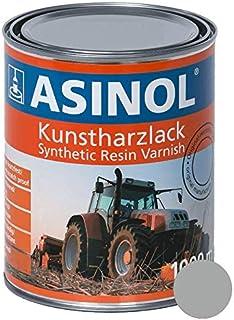 ASINOL DEUTZ SILBER 1000 ml Kunstharzlack Farbe Lack 1l Liter Dose