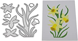 3D Wandsticker Blumen Narzissen Schmetterlinge 3er-Set Hobby Basteln Deko Karten