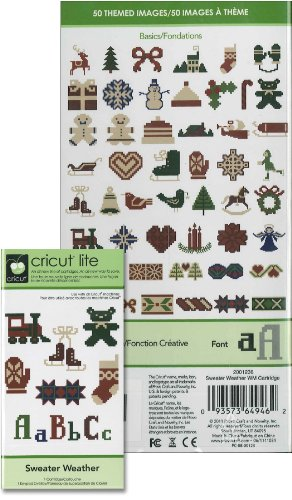 Cricut Lite Sweater Weather Cartridge