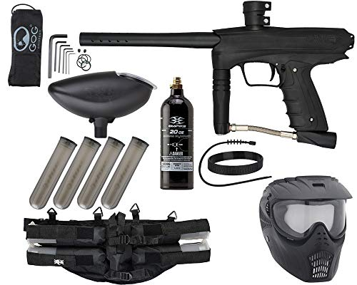 Action Village GOG eNMEy Epic Paintball Gun Package Kit (Jet Black GOG...
