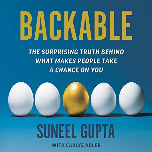 Backable Audiobook By Suneel Gupta, Carlye Adler cover art