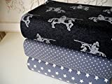 Qjutie Lottashaus Jersey no142 Stoffpaket 3 Stück 50x70cm