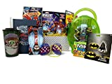 Ultimate Valentine Gift Baskets For Kids Super Hero Fun and Games Ideal Birthday & Get Well Gift Basket for Boys - 3 to 8 Years Old