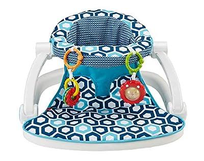 Fisher-Price Sit-Me-Up Floor Seat [Amazon Exclusive], Honeycomb