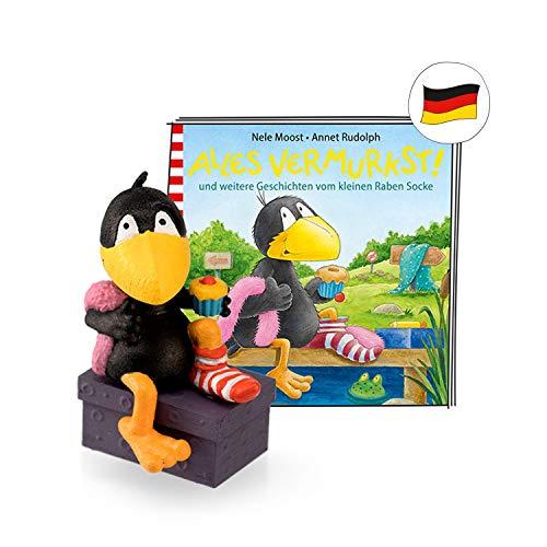 tonies Hörfigur Rabe Socke für Die Toniebox: Alles vermurkst Figura auditiva, Color...